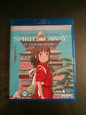 El Viaje de Chihiro (Spirited Away) Studio Ghibli Bluray con Castellano