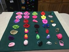 Mixed Lot of Thirty Plus (30+) Barbie, Friends and Family Hats