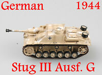 Easy Model 1/72 German Stug III Ausf. G Russia 1944 Plastic Tank Model #36155