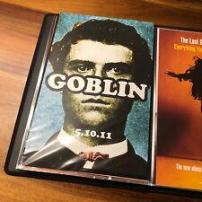 Tyler The Creator Goblin Odd Futue OFWGKTA 11x17 Double-Sided Promotional Poster
