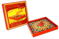 TUMBLE TOP Wooden Toy Dreddle board game retro/vtg style new box spin Spinner