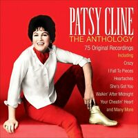 PATSY CLINE * 75 Greatest Hits * NEW 3-CD BOX SET * All Original Songs * COUNTRY