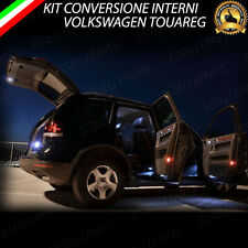 KIT LED INTERNI VW TOUAREG CONVERSIONE COMPLETA 6000K CANBUS NO ERRORE