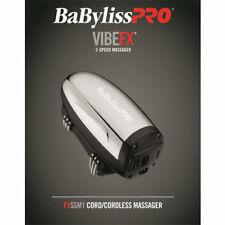 BaByliss PRO VibeFX Stainless Steel Housing Cordless Hand Held Massager FXSSM1