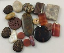 Assorted Semi-Precious Stone Beads, Resin, for Jewelry Making - Lot 9