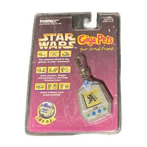 Vintage 1997 Star Wars R2-D2 Giga Pets Virtual Friend Collectible New & Sealed