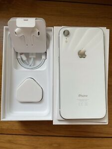 Apple iPhone XR - 128GB - White (Unlocked) A2105 (GSM)