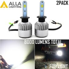 Alla Bright Shinning LED H1 Fog Light Bulb Driving Lamp,6000K White Replacment