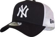 Ny Yankees New Era Marine Bleu Propre Casquette Camionneur