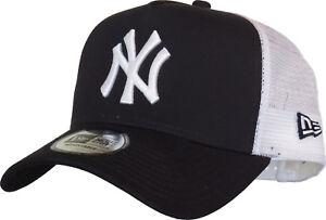 NY Yankees New Era Navy Blue Clean Trucker Cap