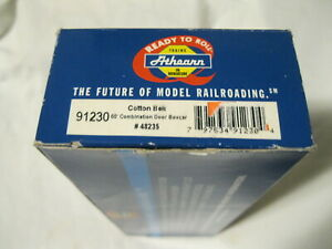Athearn HO Train Cotton Belt 50 Foot Combination Door Box Car Built RTR 91230