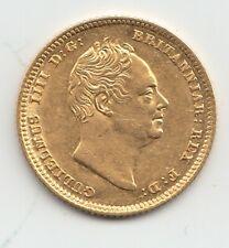 More details for 1835 william iv gold half sovereign