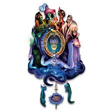 Disney Villains Timeless Treachery Light-Up Cuckoo Clock by Bradford Exchange