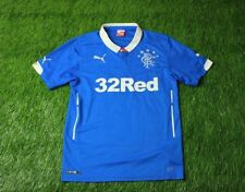 RANGERS SCOTLAND 2014/2015 FOOTBALL SHIRT JERSEY HOME PUMA ORIGINAL SIZE S