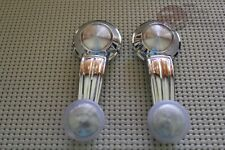 67-81 Chevy GM Window Crank Handles Clear Knob Camaro Impala Truck GTO Cutlass