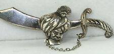 VINTAGE KORDA THIEF OF BAGDAD SULTAN SWORD PIN
