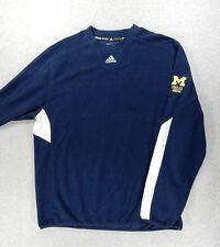 Michigan Wolverines Adidas ClimaWarm Hockey Fleece Pullover (Adult XL) Yost Ice