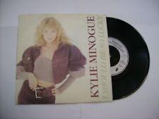 "KYLIE MINOGUE - I SHOULD BE SO LUCKY - 7"" VINYL 1987 UK PRESS"