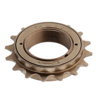 "Bronze 16T 34mm BMX Bike Bicycle Single Speed Freewheel Sprocket 1/2"" x 1/8"""