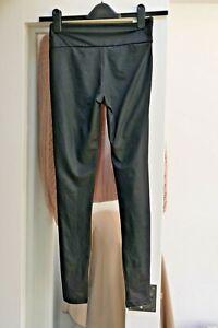 Women's  River Island Full Length Black Stretch Leggings -  Size 8
