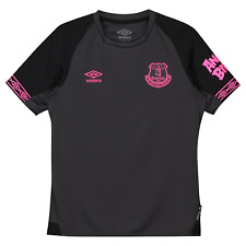 NWT MEN'S UMBRO EVERTON AWAY FOOTBALL SHIRT/JERSEY.LARGE.BRAND NEW FOR 2020!S