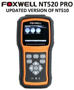 FOXWELL NT520 PRO For BMW MINI DIAGNOSTIC SCANNER TOOL CODE AIRBAG READER NT510
