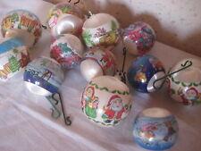 Décoration de Noel Lot de 12 boules pour Sapin