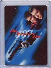 2017 James Bond Archives Final Edit CT1 Die Another Day Case Topper Metal Card