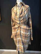 VIVIENNE WESTWOOD BUSTLE TARTAN DRESS SZ 42/6