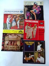 Lot 4x45rpm sud america 1960 Tito rodriguez,Chakachas,Payos,Machucumbos  EX/EX