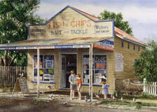 Blue Opal Deluxe Gordon Hanley Fish & Chips 1000 piece Jigsaw Puzzle BL01935