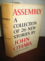1st Edition Assembly John O'Hara Stories First Printing Fiction