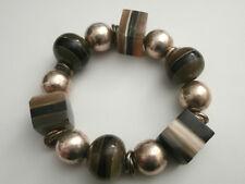 Bracciale Donna Catena di ancoraggio cuore gioielli 20cm Bracciale Pl con Sterling Argento da123