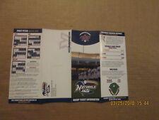 Texas League Northwest Arkansas Naturals 2008 Baseball Season Ticket Brochure