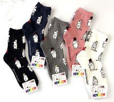 Moomin Valley Character Novelty Cartoon Ankle Socks Kawaii Harajuku Size 35-40