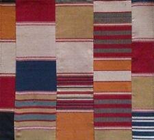 DESIGNERS GUILD Polperro St Mawes Quilt Red Orange Cotton Remnant New