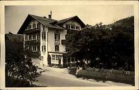 Bad Klosterlausnitz Thüringen alte s/w AK ~1940/50 Partie am Hotel Wittelsbach