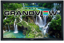 """Grandview Cyber Series 120"""" Fixed Frame Acoustic Perforated  Projector Screen"""