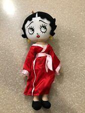 "Betty Boop Stuffed Doll World Traveler Collection 14"" Japan Immediate Ship Htf"