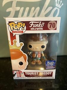 Funko Tourist Freddy Hollywood Exclusive Limited Edition