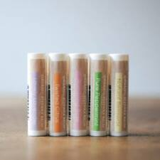 Lip Balm Hand Made in WA Natural & Organic - 5 PACK ON SALE NOW 1/2 PRICE !!!!!