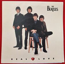 THE BEATLES Real Love, 45 PICTURE SLEEVE ONLY (NO RECORD) - MINT
