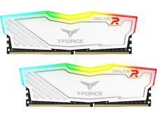 Team T-Force Delta RGB 16GB (2 x 8GB) DDR4 3000 (PC4 24000) Desktop Memory