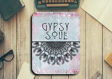 Gypsy Soul Mouse Pad Easy Glide Non Slip Tough Neoprene Gift Ideas Boho Mandala