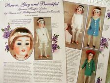 6p History Article -  Antique German Flapper Dolls of S&H, Marseille