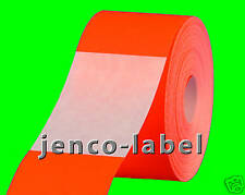 FR2300R, 500 2x3 Red Fluorescent Color Code Label