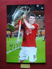 """MANCHESTER UNITED MICHAEL CARRICK GENUINE HAND SIGNED 12""""x18"""" PHOTO- PHOTO PROOF"""