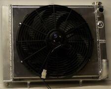 1963-1972  corvette aluminum radiator & fan  for ls1 ls2 ls3 MADE IN USA