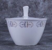 Franciscan Whitestone Ware Merry Go Round Sugar Bowl
