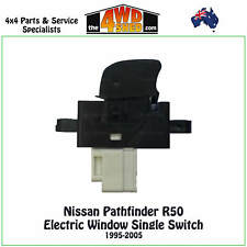 POWER WINDOW SWITCH SINGLE fit NISSAN PATHFINDER R50 1995-2005 ELECTRIC BUTTON